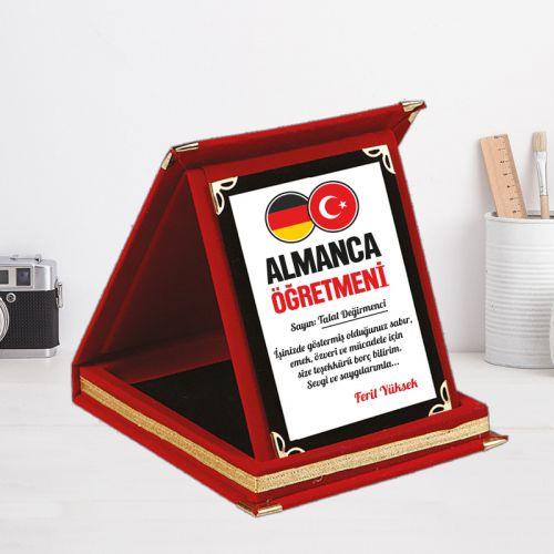 Almanca Öğretmenlerine Özel Hediye Plaket