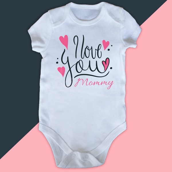 Anne Baba Tasarımlı Bebek Zıbını