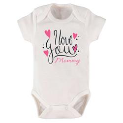 Anne Baba Tasarımlı Bebek Zıbını - Thumbnail
