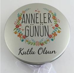 Anneler Günü Hediyesi Çikolata Metal Kutu Standart Tasarım - Thumbnail