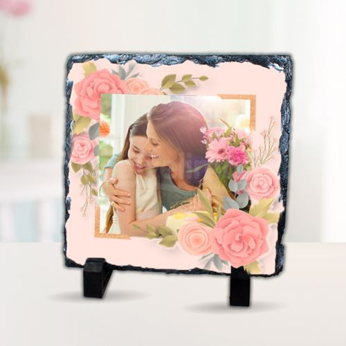 Anneler Günü Hediyesi Taş Baskı