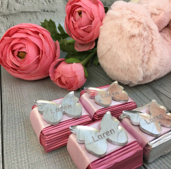 Aynalı Çikolata (Kız Bebek - Spesiyal Çikolata) Özel Tasarımlı - Thumbnail