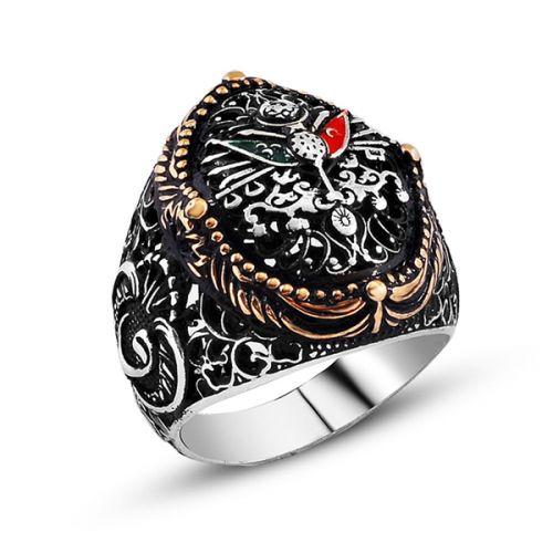 Erkeklere Özel Osmanlı Yüzüğü