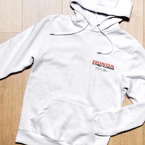 Honda V-tec Turbo Logolu Kişiye Özel Kapşonlu Sweatshirt