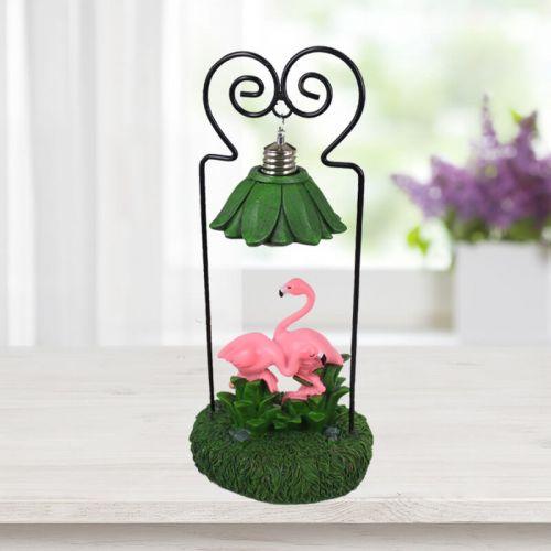 Işıklı Pembe Flamingo Biblo