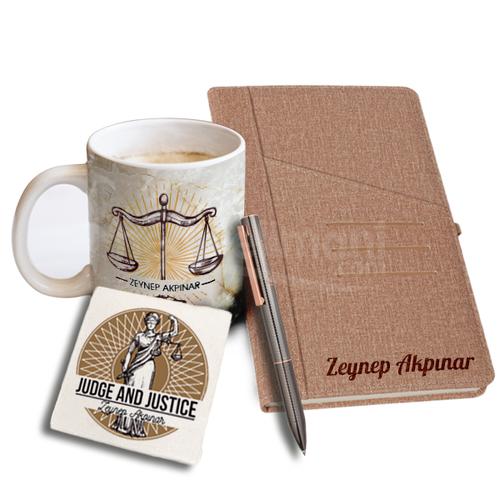 İsme Özel Avukata Ofis Hediyesi