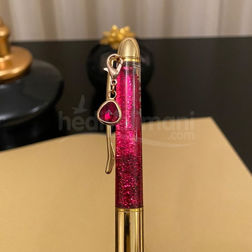 İsme Özel Gold Sulu Simli Kalem