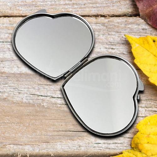İsme Özel Kalp Mini Ayna