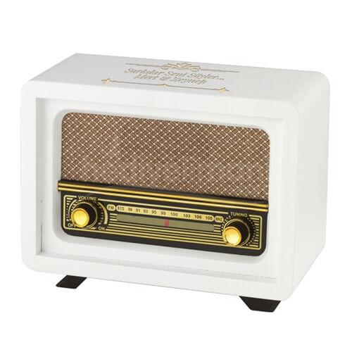 İsme Özel Nostaljik Radyo Beyaz