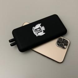 İsme Özel Telefon Tutucu Vantuzlu Led Işıklı 8000 mAh Powerbank - Thumbnail