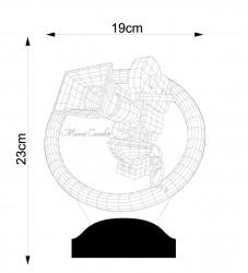 Kamera 3D Led Lamba - Thumbnail