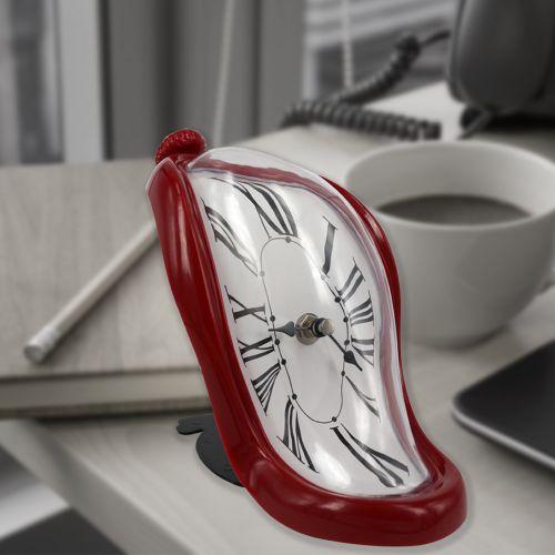 Kırmızı Renkli Eriyen Saat