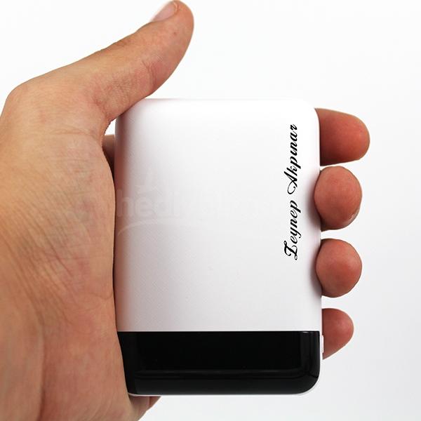 Kişiye Özel 10000 mAh Mini Powerbank