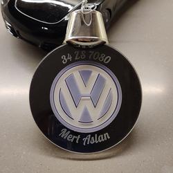Kişiye Özel Araba Logolu ve Plakalı Işıklı Led Lamba - Thumbnail