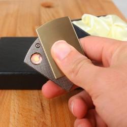 Kişiye Özel Elektronik Çakmak Yan Açmalı - Thumbnail