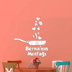 Kişiye Özel İsimli Mutfak Aynası - Thumbnail