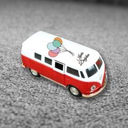 Kişiye Özel Tasarımlı Kırmızı Vosvos Minibüs - Thumbnail