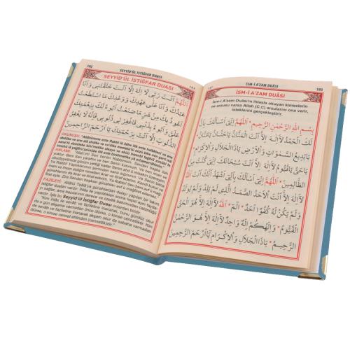 Lüks Kadife Kaplı Çanta Boy Yasin Cüzü (Yeni Kur'An'E Geçenler İçin)