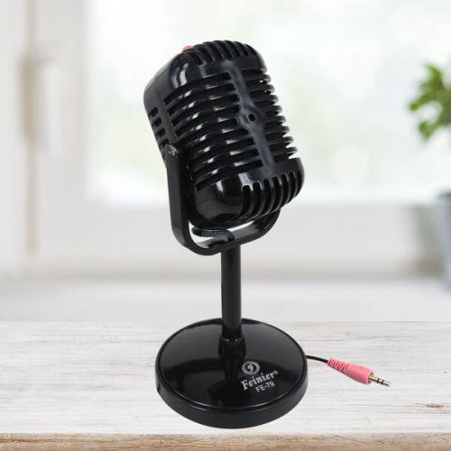 Nostaljik Görünümlü Mikrofon