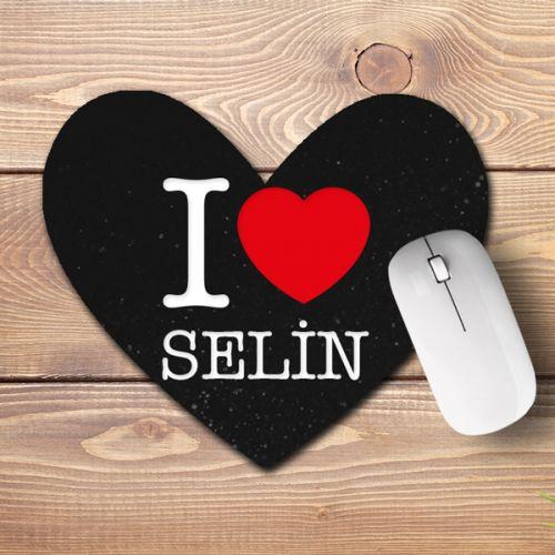 Sevgiliye Özel Kalp Mouse Pad
