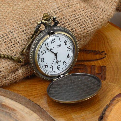 Tuğra Kabartmalı Köstekli Saat