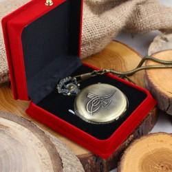 Tuğra Kabartmalı Köstekli Saat - Thumbnail